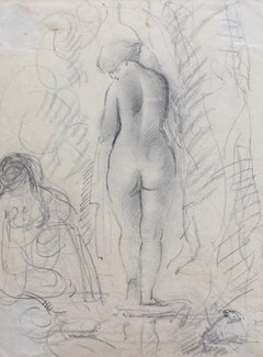 Nude Woman After Bath