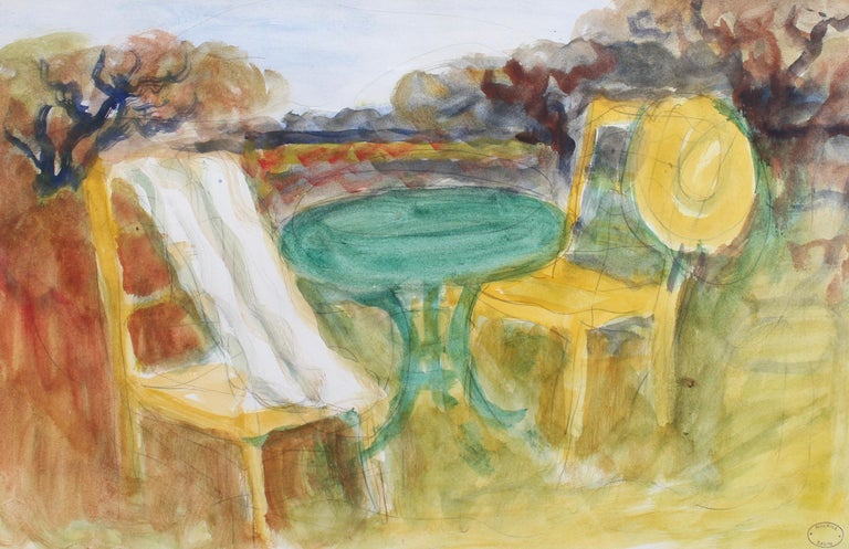 Maurice Savin Landscape Art - The Terrace