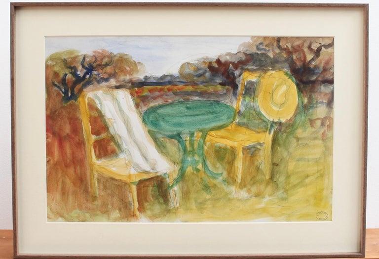 The Terrace - Modern Art by Maurice Savin