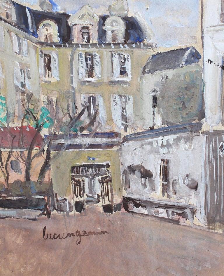 Lucien Génin Landscape Art - A View of Paris