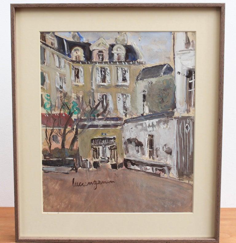 A View of Paris - Post-Impressionist Art by Lucien Génin