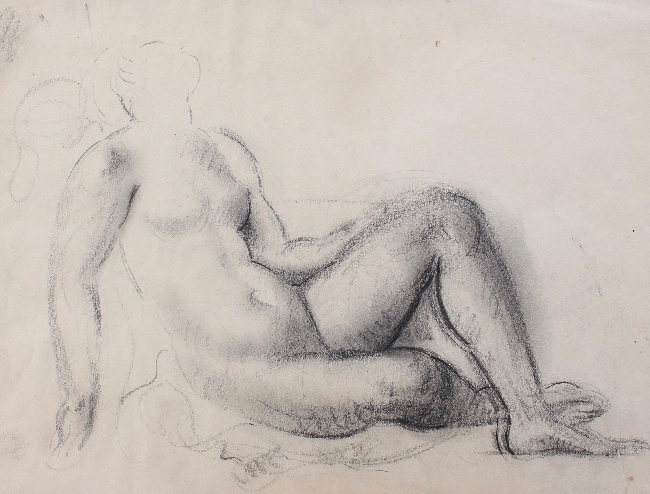 Study of Reclining Nude