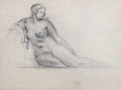 Portrait of Reposing Nude