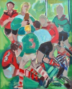 Rugby Five Nations Tournament: Ireland v Wales