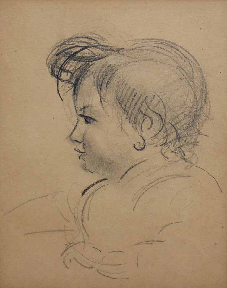Portrait of a Young Girl - Art by Guillaume Dulac