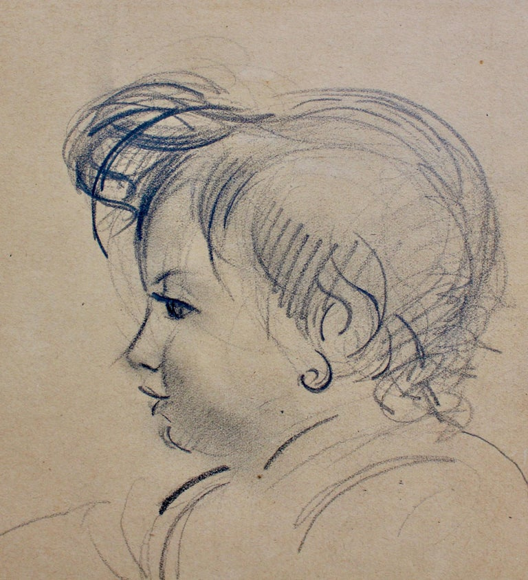 Portrait of a Young Girl For Sale 2