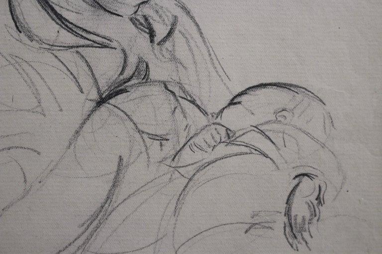 Mother Nursing Her Baby For Sale 3