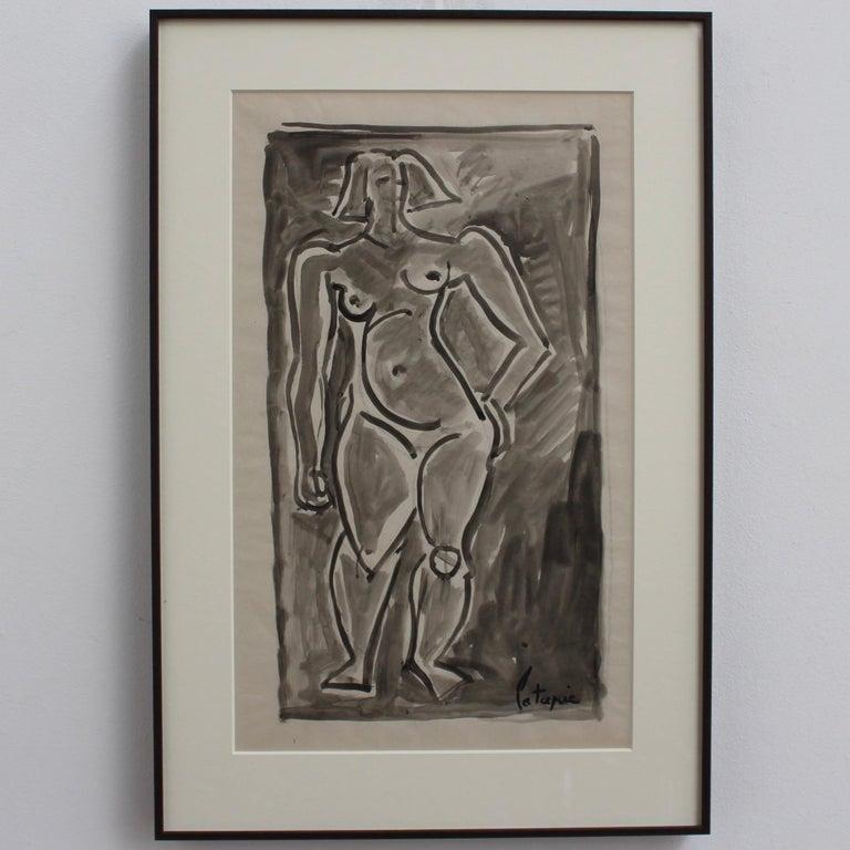 Standing Nude - Art by Louis Latapie