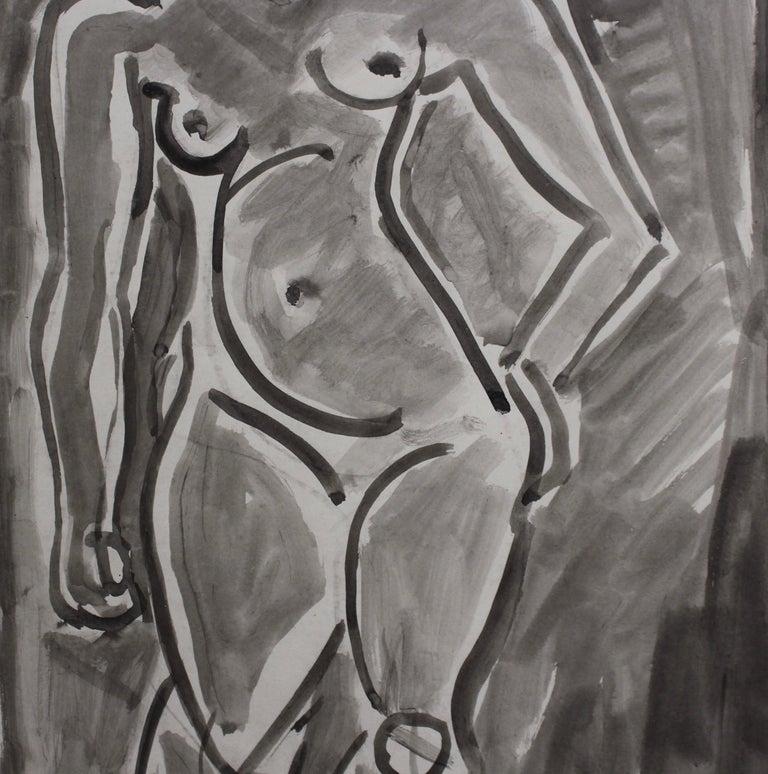 Standing Nude 4