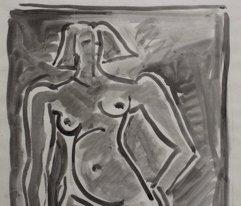 Standing Nude 5