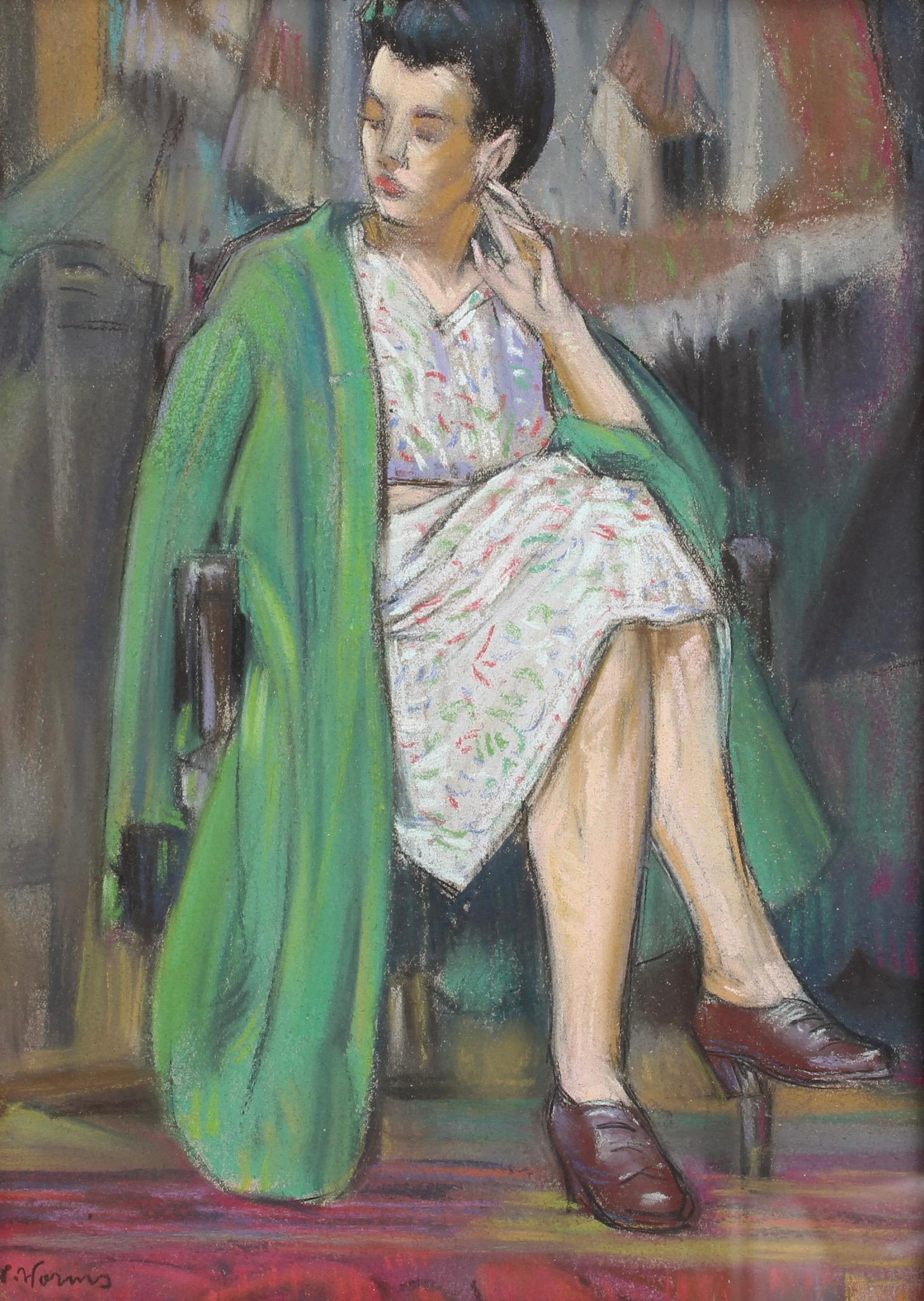 'The Green Coat' by W. Worms