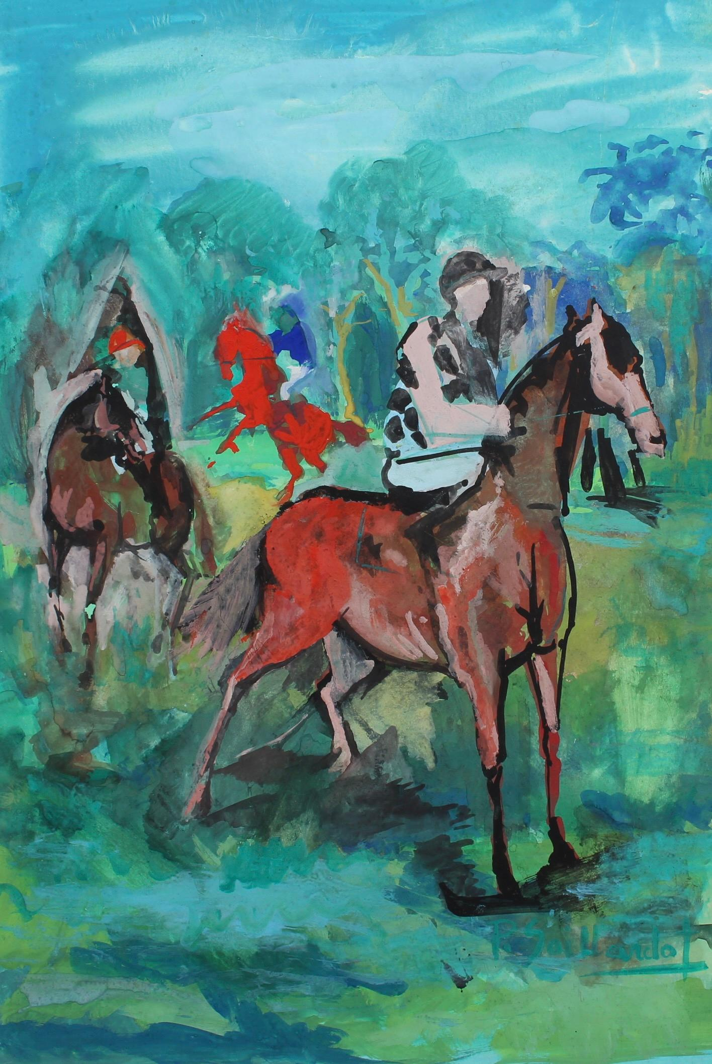 The Racing Horses