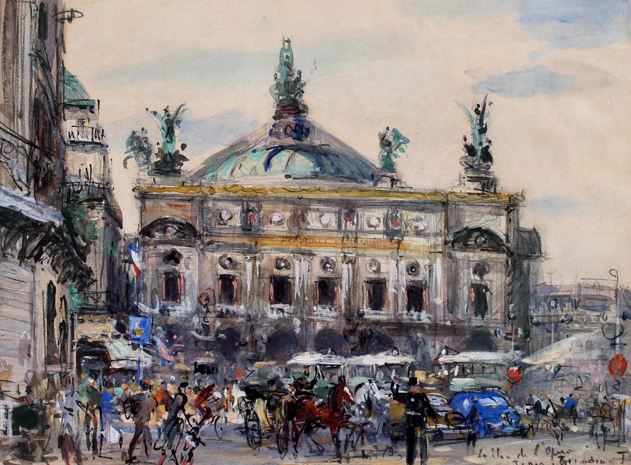 'Paris Opera House' French School