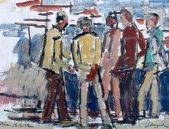 Men in the Port of Nice