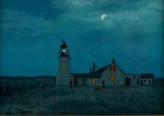 Race Point Lighthouse, Cape Cod, built 1816, c. 1850