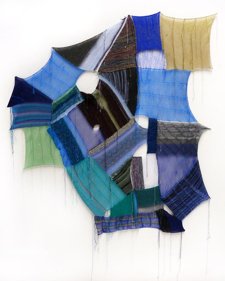 Melissa Dadourian Abstract Sculpture - Softgeometry No. 15