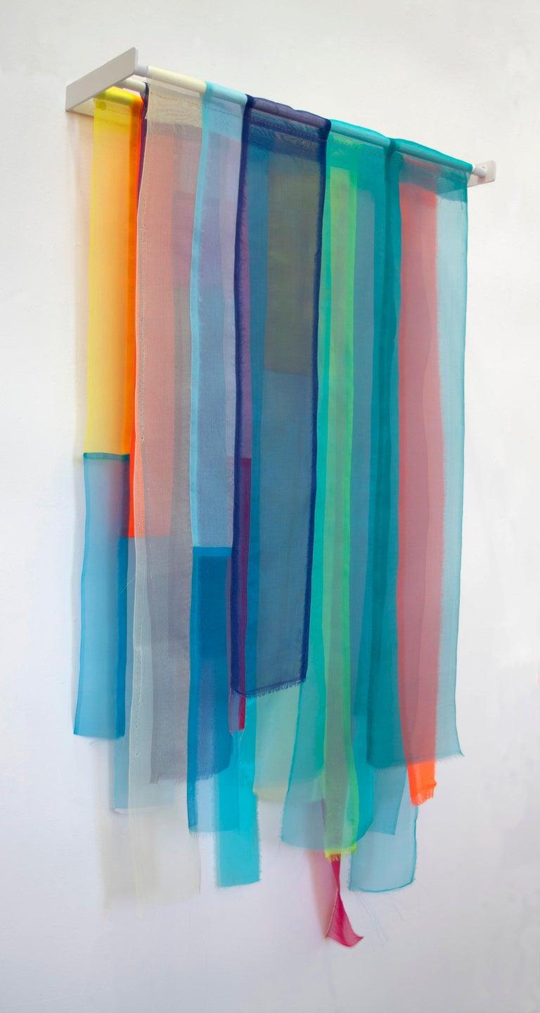 Linda Kamille Schmidt, Deep, fabric with custom metal support, 36