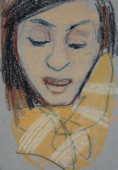 Two-Tone Yellow Scarf