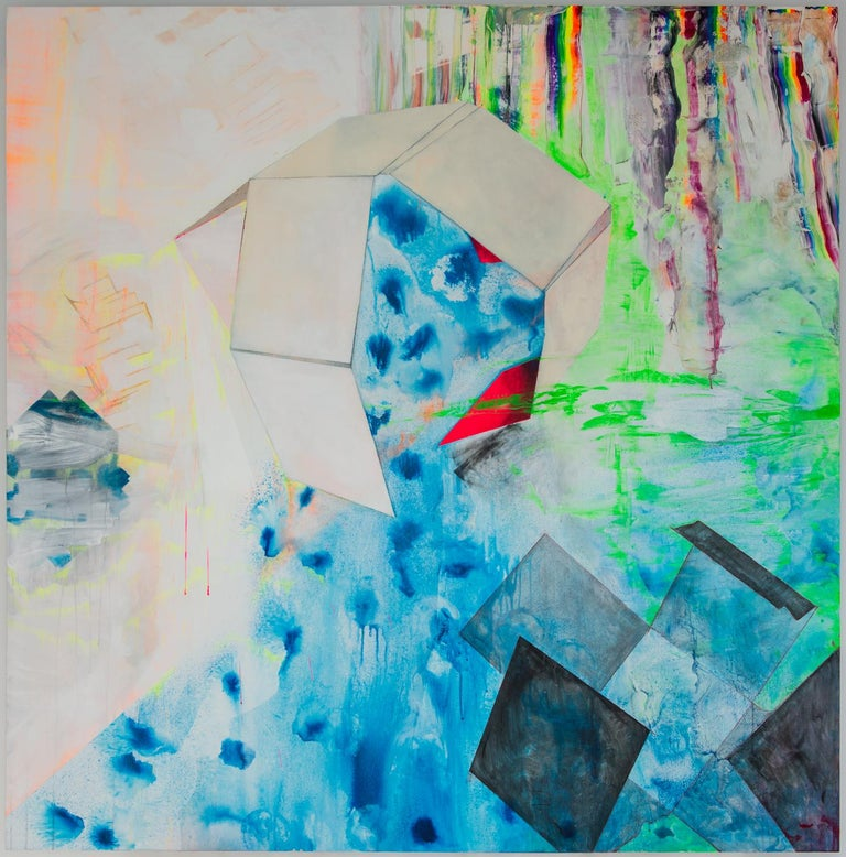 Millie Benson Abstract Painting - Breathe