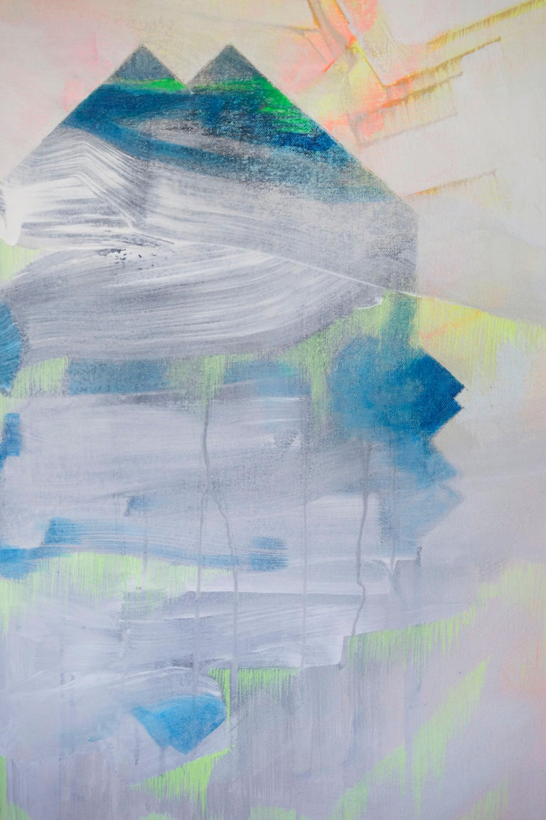 Ground Floor Gallery is very pleased to present new work by Millie Benson: a visual artist based in Brooklyn, New York. Benson uses painting to engage with ideas of various origins such as mortality, motherhood, transformation, and