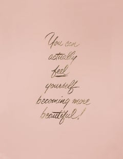 You Can Actually Feel Yourself Becoming More Beautiful
