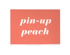 Maybelline No. 30: Pin-Up Peach Screenprint 1
