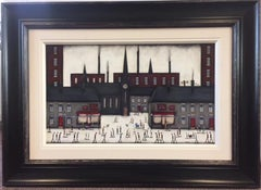 Bustling City, inspired by Lowry