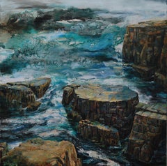 To The Lighthouse, Newfoundland, Seascape Painting