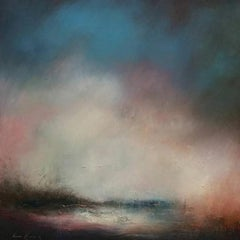 Secret Cove, atmospheric painting seascape , contemporary painting