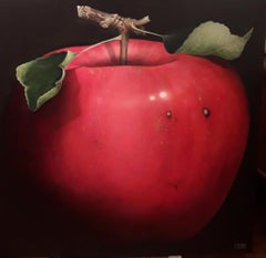 Planet Apple: The Fairest Of Them All, Dani Humberstone, Oil glaze painting,