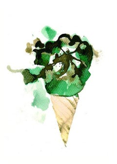 Cornetto, Gavin Dobson, Limited Edition Print, Ice Cream Art
