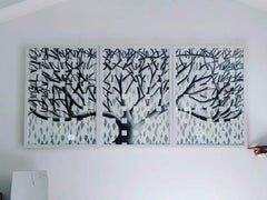 Lorraine Thorne, Beatrice's Tree, Original Work on Paper, Landscape, Nature