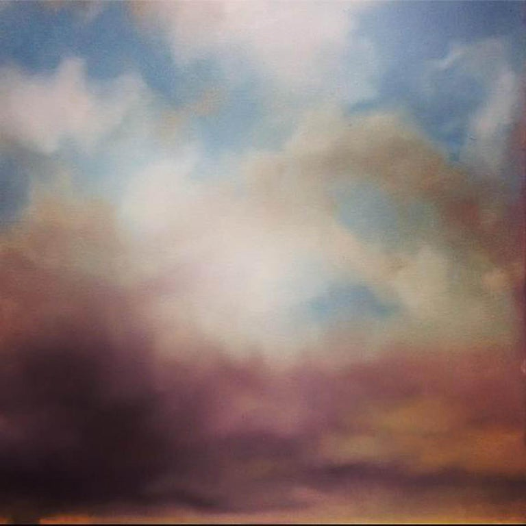 Sophie Berger Landscape Painting - Everything You Could Ever Want Is Right Here