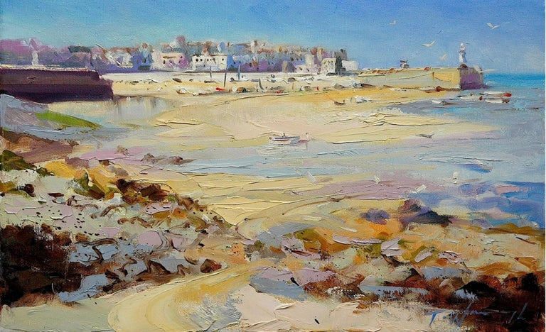 Trevor Waugh  Oil, Brush and palette knife on canvas