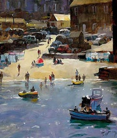 Mousehole Harbour Cornwall