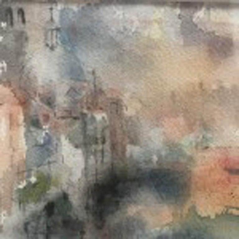 Grand Canal at Dusk, Venice, Jemma Powell, Original Watercolour Painting, Art 1