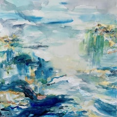 Roberta Tetzner original art for sale, sea painting, Reflect 2.