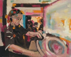 The Sushi Chef, Eleanor Woolley, Affordable art online,Contemporary Abstract Art