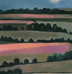 Linseed Fields, Eleanor Woolley, Affordable art online, Contemporary AbstractArt