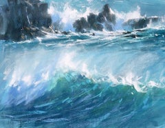 James Bartholomew, Westerly Squall, Limited Edition Seascape Print, Paintings
