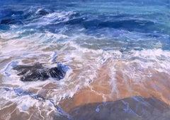 James Bartholomew, Porthmeor Wash, Cornish Beach Art, Prints of Cornwall forSale