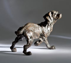 'Listening Hard!' Working Cocker, Bronze, Limited edition of 15 BY JANE SHAW