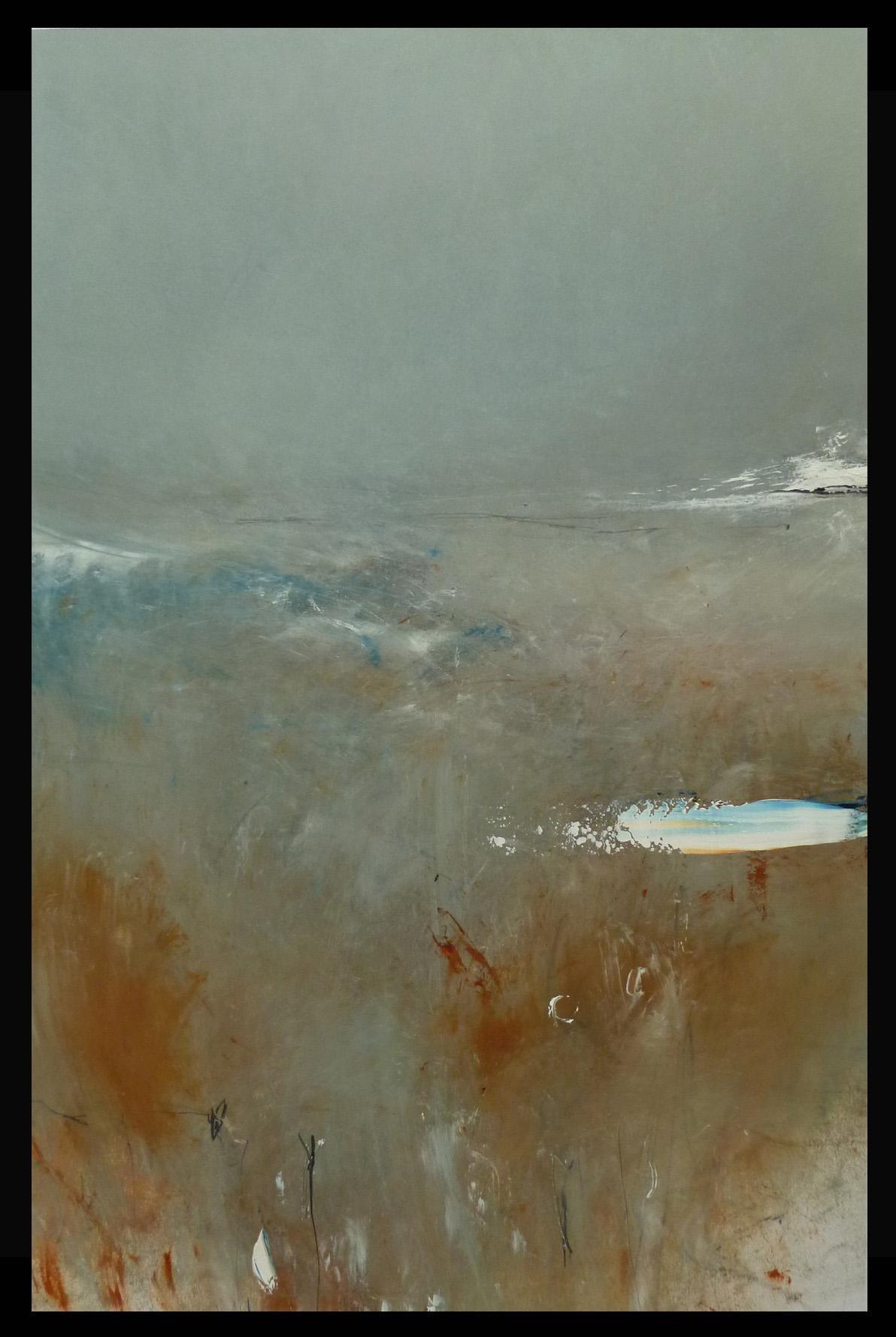 Winter Morning Light, Mark Stopforth, Landscape Art, Abstract Painting