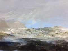 Kim Pragnell, Blue Horizon, Original Seascape Art, Blue Painting, Affordable Art