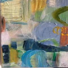 Diane Whalley, Magical Times Togethers, Contemporary Abstract Painting