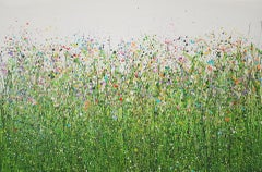Lucy Moore, Painted Meadows #6, Original Semi Abstract Painting