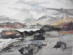 From the Sound of Arisaig, Winter Storm, Duncan MacDonald Johnson, Welsh Artist