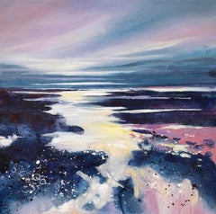 Adele Riley. Pools and Reflections, seascape, contemporary art, original art, Co