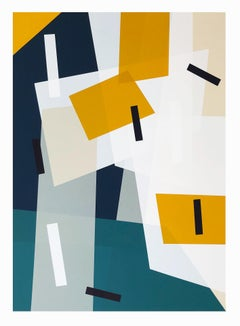 Jonathan Lawes, Caletta, Limited Edition Geometric Print, Bright Abstract Art