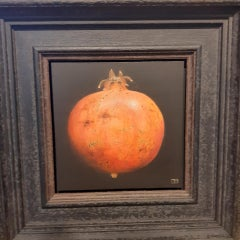 Dani Humberstone, Pomegranate, Original Contemporary Still Life Painting